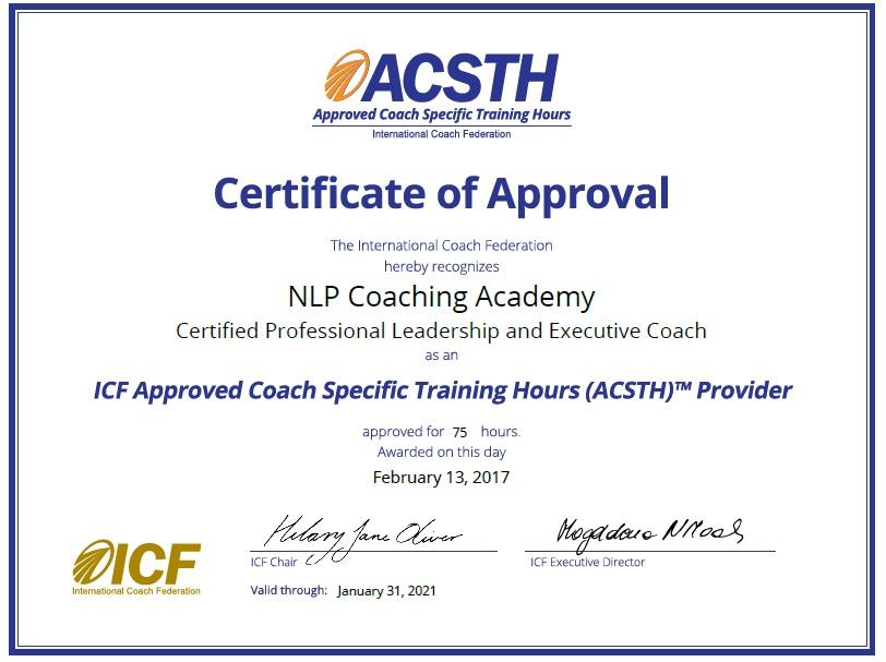 accreditation | NLP Training, NLP, NLP Coaching Academy ...